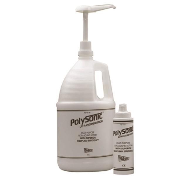 polysonic ultrasoundlotion 1 gal dispenser bottle