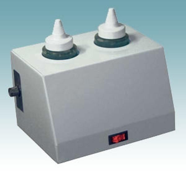 16 ounce gel warmer, 2 bottle capacity, adjustable heat