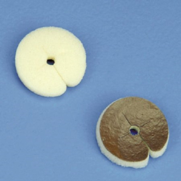 Catheter Dressing with Silver Algidex Ag I.V. PATCH Disc with Opening Fenestrated Round Sterile