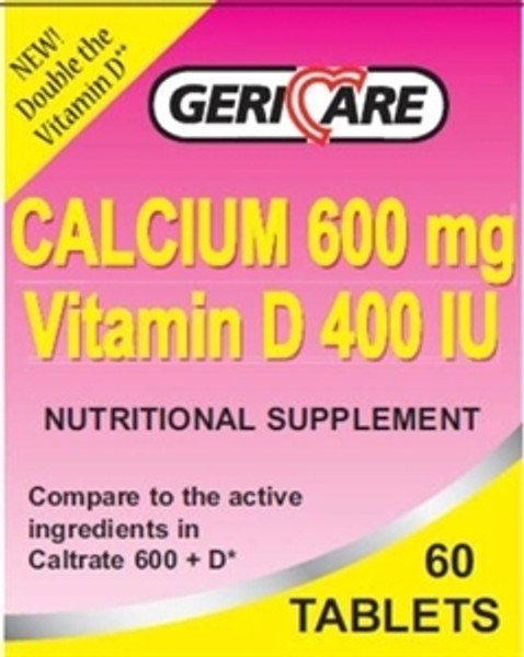 Calcium 600 + D Tablets