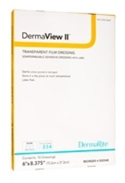 Transparent Film Dressing DermaView II