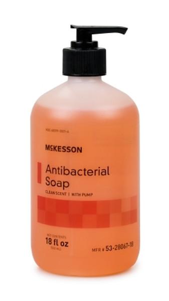 Antibacterial Soap McKesson Liquid Pump Bottle Clean Scent