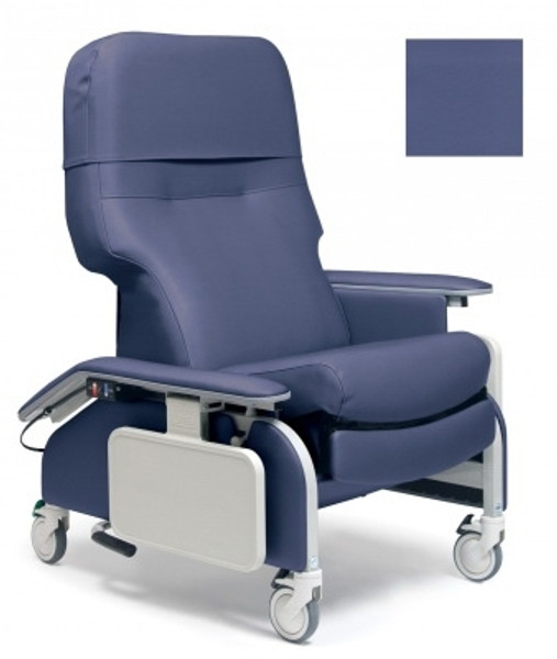 Clinical Care Drop Arm Recliner Caster