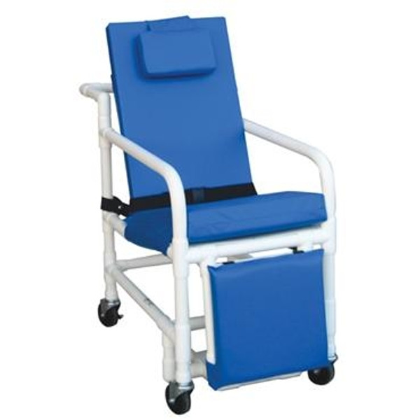 518-PL Petite Reclining Geri Chair with Elevated Rest