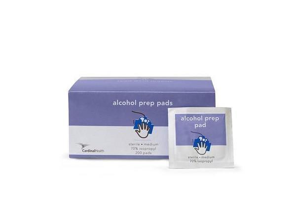 Cardinal Health Alcohol Prep Pad 55MWAPL