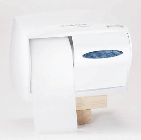 Bath Tissue Dispenser Windows