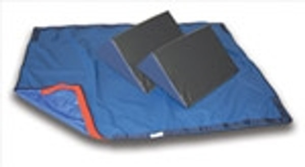 30-Degree Bed System with Slider Sheet and Two 16 Inch Wedges