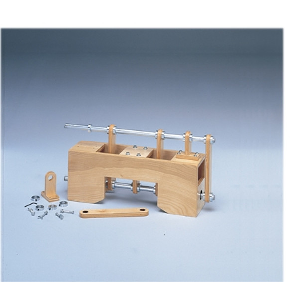 work hardening table top hand assembly device