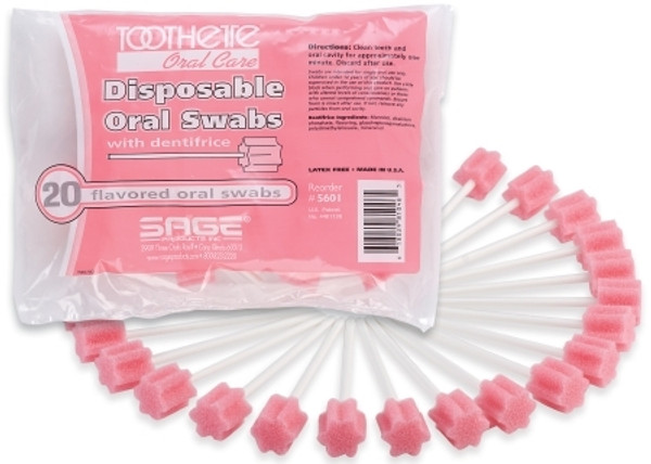 Sage Products Toothette Oral Swabstick 2
