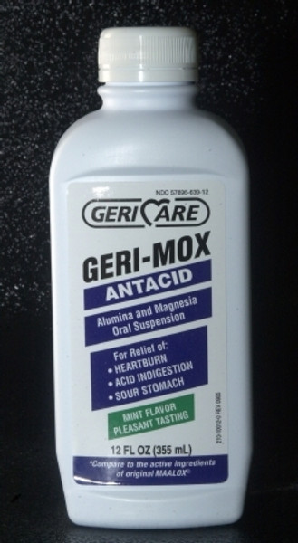Geri-Mox Antacid Liquid