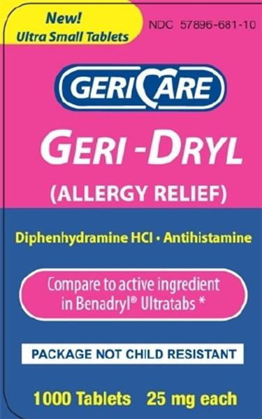 Geri - Dryl Allergy Relief