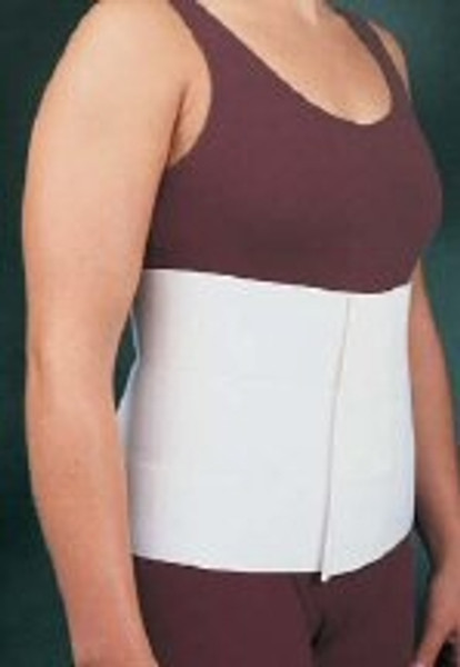 Abdominal Binder Comfor One Size Fits Most Hook And Loop Closure Up to Unisex