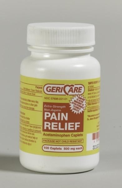 Acetaminophen Extra Strength Caplets