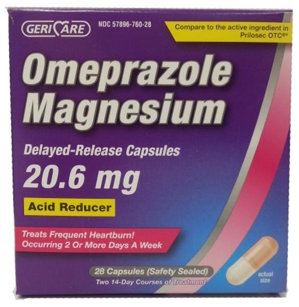 Omeprazole Magnesium Acid Reducer Capsules