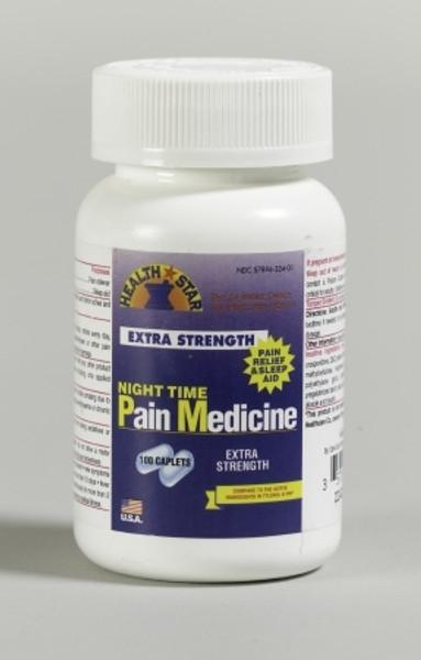 Acetaminophen Night Time Pain Medication Caplets