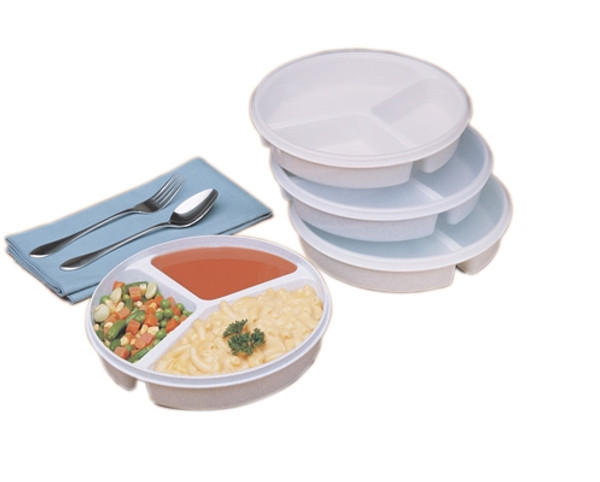 partitioned scoop dish cover