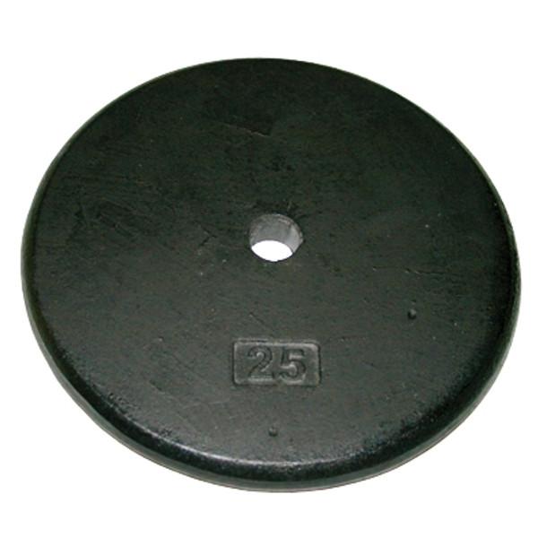 Iron Disc Weight Plate - 25 Lb