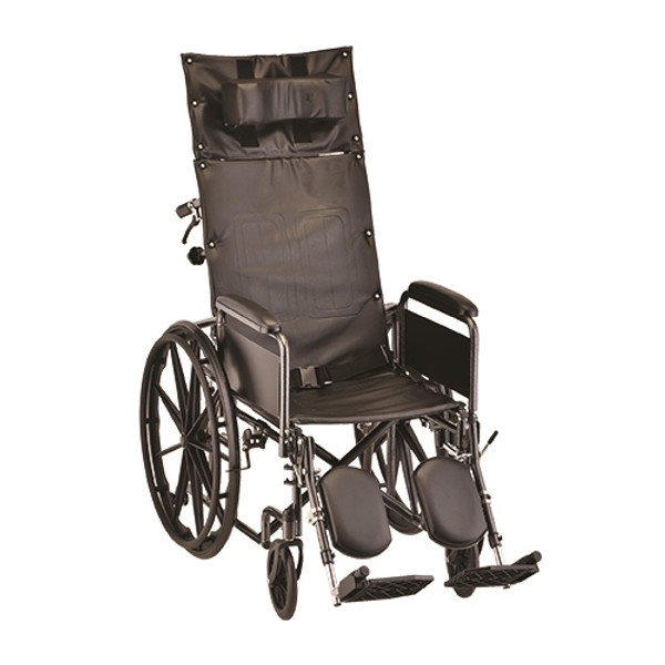 20 Inch Reclining Wheelchair