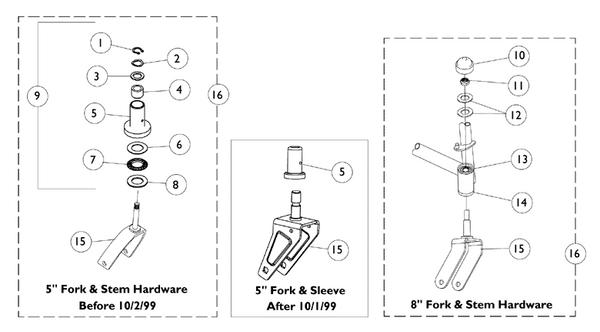 FORK ASBLY 8 IN CMPLT 9153603922