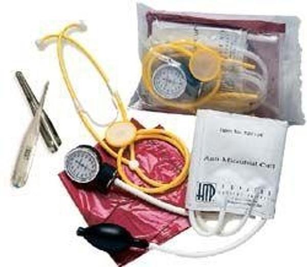 Hopkins Medical Products Adult MRSA Plus Kit Aneroid Sphygmomanometer / Stethoscope Combo
