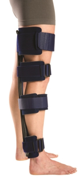 Knee Immobilizer Small Hook and Loop Closure 25 to 28 Inch Length