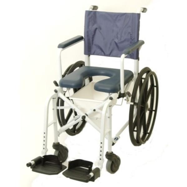 "Mariner Rehab Shower Commode Chair - 23"" Wheels"