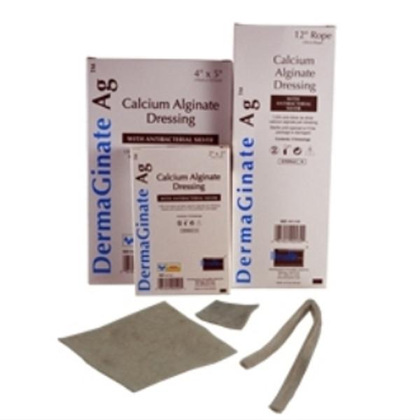 Calcium Alginate Dressing with Silver