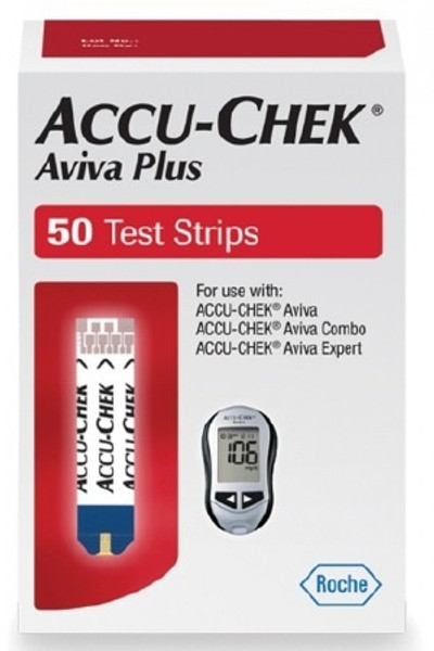 Blood Glucose Test Strips Accu-Chek