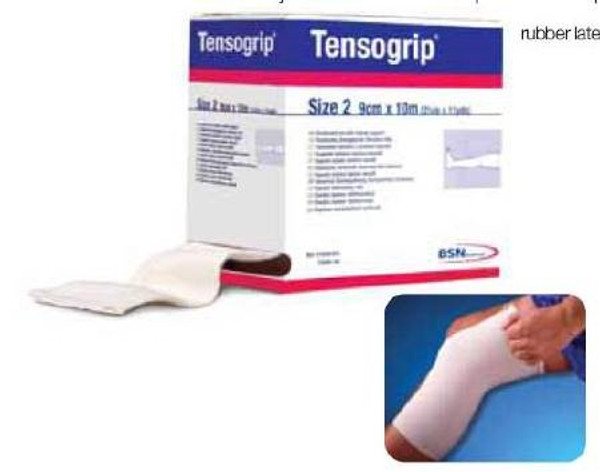 Tubular Support Bandage Tensogrip Yard Standard Compression Pull On Beige Size D NonSterile