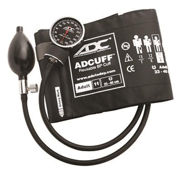 adc diagnostix pocket aneroid sphyg adult black