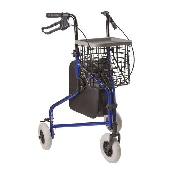 3-Wheel Folding Rollator