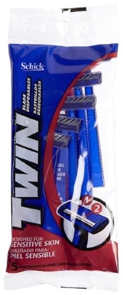 Razor Schick Twin Blade Disposable