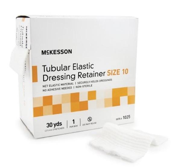 Retainer Dressing McKesson Tubular Elastic Dressing Elastic Net