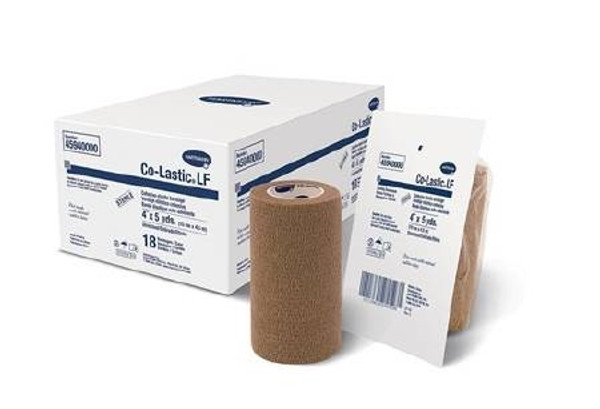 2 Layer Compression Bandage System TwoPress Standard Compression Self-adherent Closure Tan White