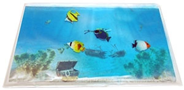 Gel Aquarium w/4 Fish