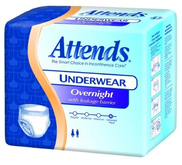 Adult Absorbent Underwear Attends Discreet Pull On Disposable Heavy Absorbency