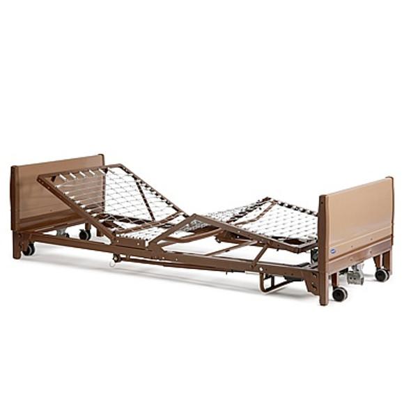 Full Electric Low Bed Package w/ Foam Mattress