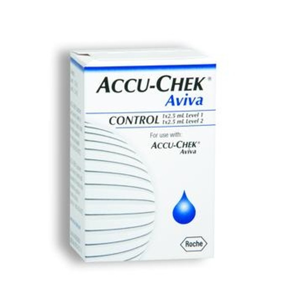 accu-chek aviva 2 level glucose control solution