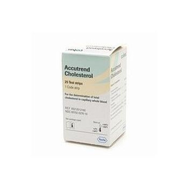 accu-trend cholesterol test strips