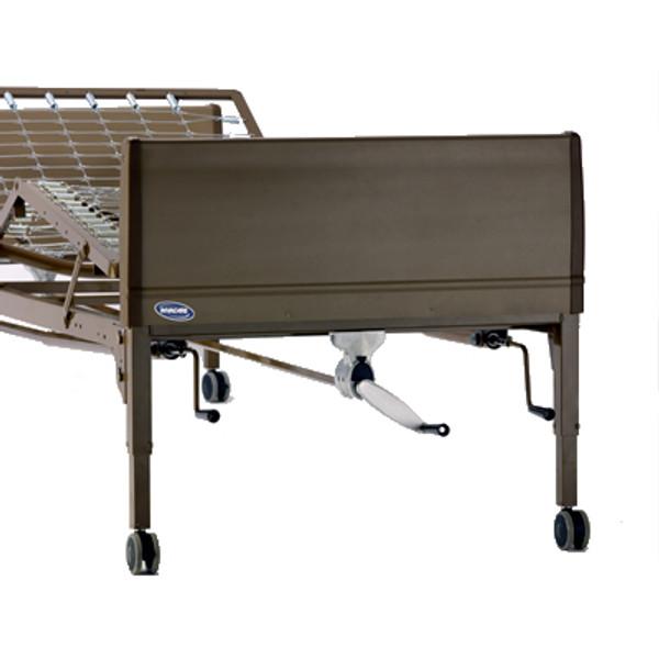 Manual Bed Package w/ Innerspring Mattress