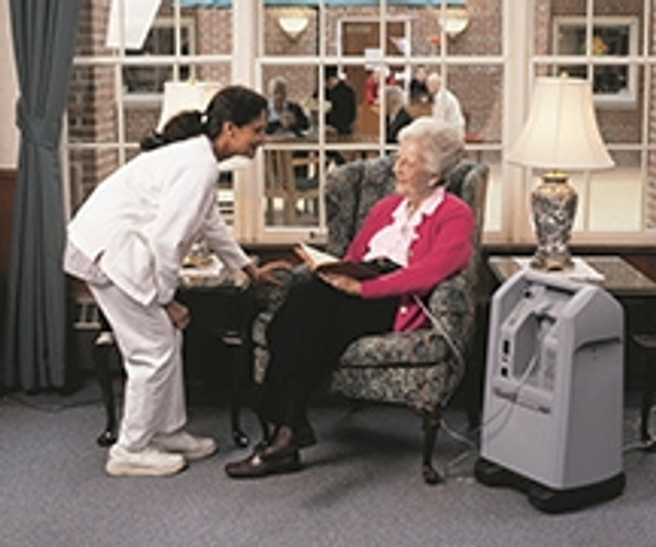 NewLife Intensity 10 LPM with Dual Flowmeters Oxygen Concentrator AS099-1