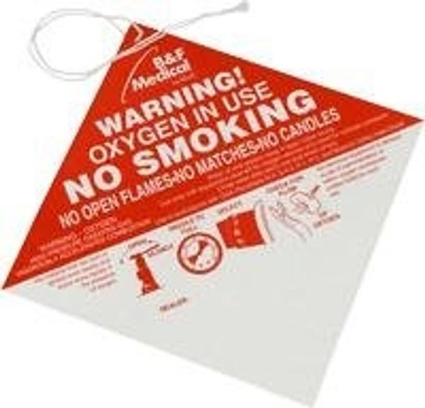 Placard No Smoking 100/Cs