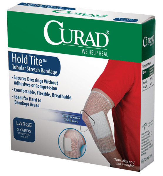 CURAD Hold Tite Tubular Stretch Adult Bandages