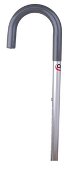 adjustable aluminum cane with round handle