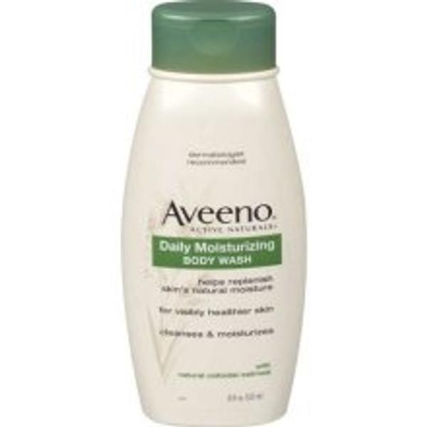 Aveeno Liquid Body Wash 18 oz. Bottle Scented