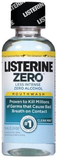 Mouthwash Listerine Zero Clean Mint Flavor