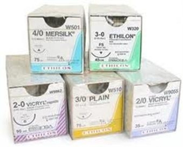 Absorbable Sutures - Size: 3-0