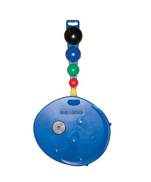 Balance Board System MAPS Professional Model Balance Board Ball Set Weight Rods Pounds Disk Weights Wall Storage Rack Blue