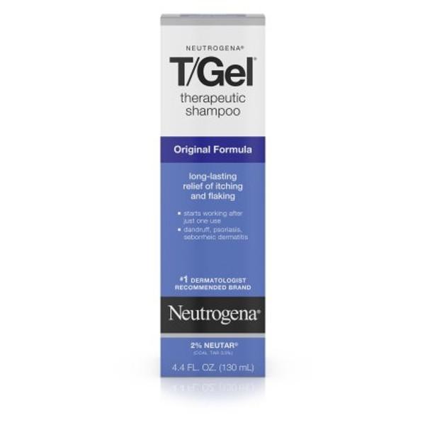 Neutrogena T/Gel Dandruff Shampoo Squeeze Bottle Scented
