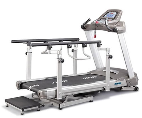 """Spirit Mt200 Bi-Directional Incline/Decline Treadmill, 57"""" X 30"""" X 57"""""""